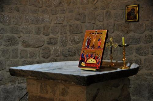 SS Sergio e Bacco l'icona sull'antico altare